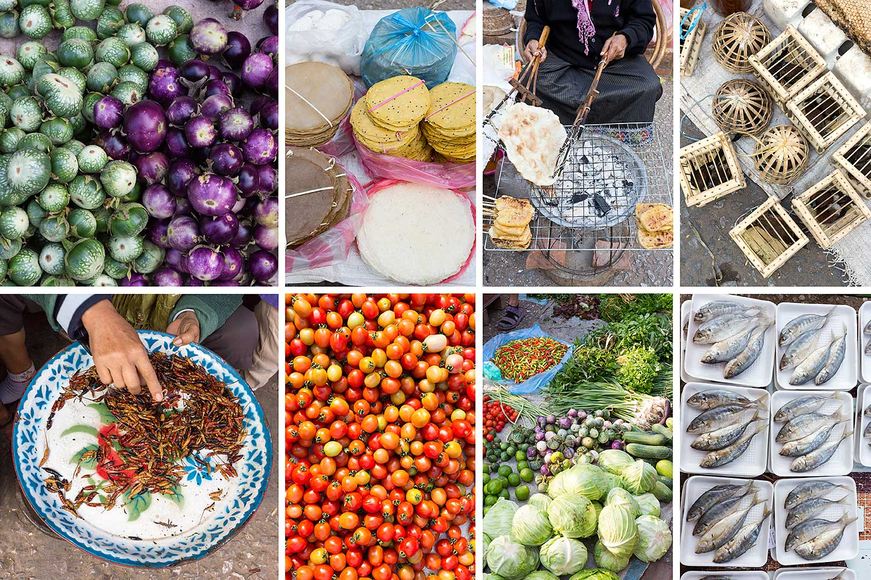 Market. Luang Prabang. Laos