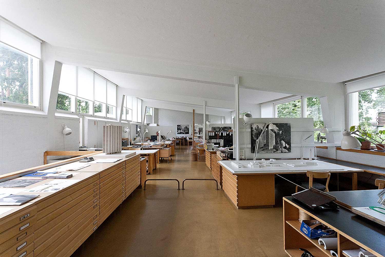 Alvar Aalto's home. Helsinki