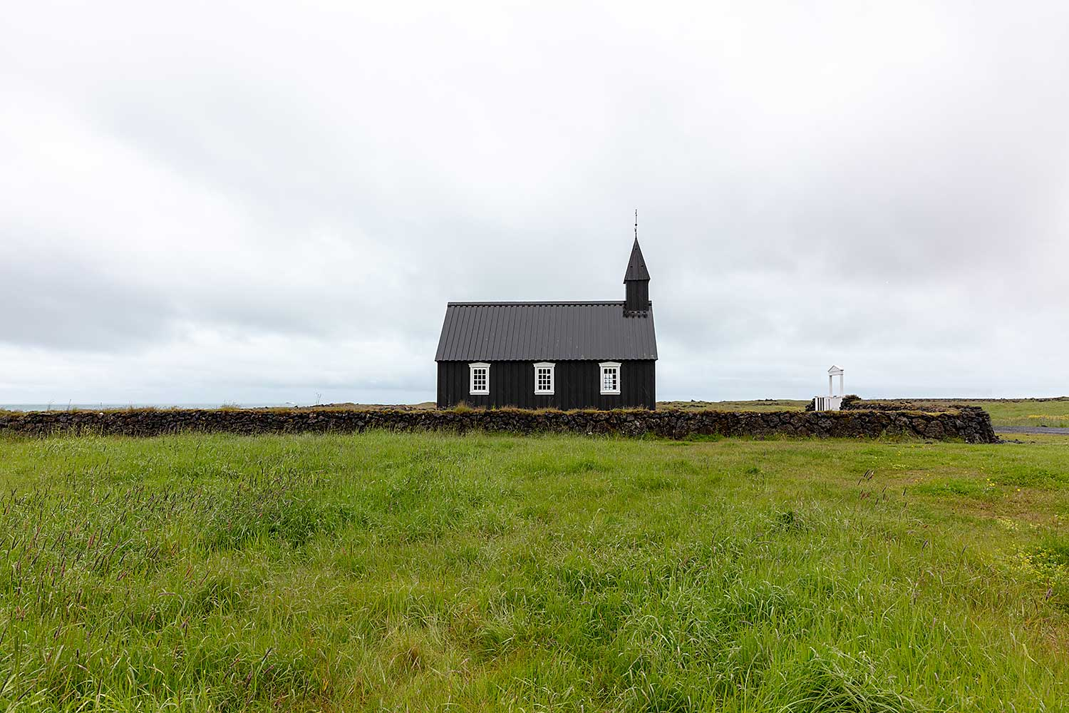Black Church. Iceland