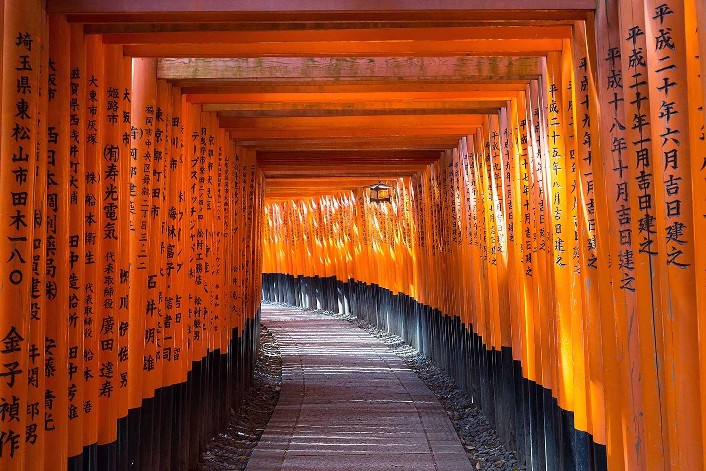 Fushimi Inari Shrine. Kyoto. Japan