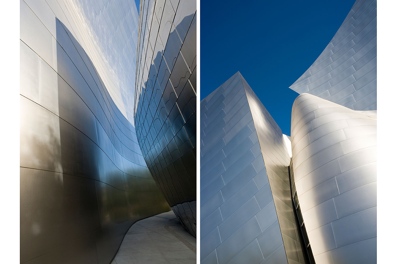 Walt Disney Concert Hall by Frank Gehry. Los Angeles